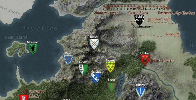 Westeros The North  OakthorneWiki